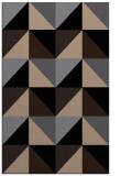 rug #1152763 |  black geometry rug