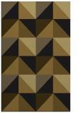 rug #1152771 |  mid-brown retro rug