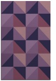 rug #1152847 |  purple retro rug