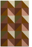 rug #1152899 |  mid-brown abstract rug