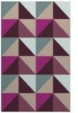 rug #1152915 |  pink geometry rug