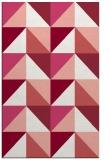 rug #1152987 |  pink popular rug