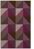 rug #1152991 |  purple abstract rug