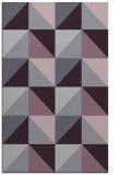 rug #1153003 |  purple geometry rug