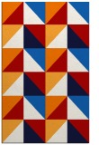 rug #1153007 |  red geometry rug