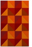 rug #1153011 |  red abstract rug