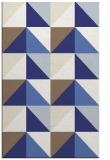 rug #1153047 |  blue geometry rug