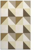 rug #1153071 |  yellow geometry rug