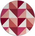 rug #1153355 | round white popular rug