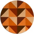 rug #1153398 | round abstract rug