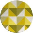 rug #1153411   round white retro rug