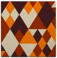 rug #1153855   square orange geometry rug