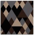 rug #1153867 | square black retro rug