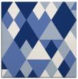rug #1153903 | square blue popular rug