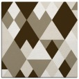 rug #1154015 | square white geometry rug