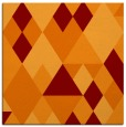 rug #1154063 | square red-orange rug