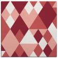 rug #1154091 | square pink rug