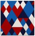 rug #1154111 | square red retro rug