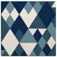 rug #1154163 | square white geometry rug