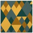 rug #1154183 | square light-orange retro rug