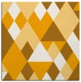 rug #1154207 | square light-orange retro rug