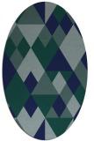 rug #1154265 | oval geometry rug