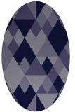 rug #1154311 | oval geometry rug