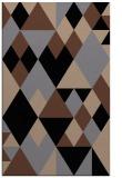 rug #1154607 |  brown geometry rug