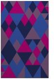 rug #1154627 |  pink geometry rug