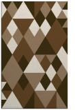 rug #1154747 |  mid-brown retro rug