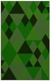 rug #1154795    green geometry rug