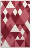 rug #1154819 |  pink retro rug