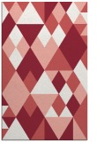 rug #1154827    pink retro rug
