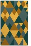 rug #1154919 |  light-orange retro rug