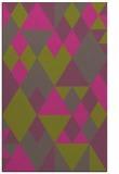 rug #1154935 |  pink retro rug