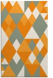 rug #1154951 |  light-orange retro rug