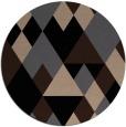 rug #1154971   round black popular rug