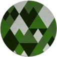 rug #1155102 | round retro rug