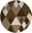 rug #1155115 | round beige geometry rug