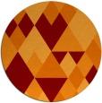 rug #1155168 | round retro rug