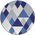 rug #1155255   round white retro rug