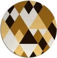 rug #1155259 | round brown popular rug