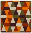 rug #1155695   square orange popular rug