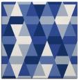 rug #1155743 | square blue geometry rug