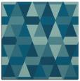 rug #1155763   square blue-green rug