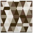 rug #1155855 | square white retro rug