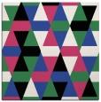 rug #1155895 | square black retro rug