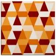 rug #1155907   square orange geometry rug
