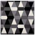 rug #1155983 | square black retro rug