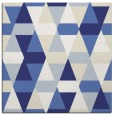 rug #1155991 | square white geometry rug